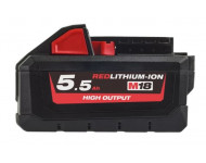 Batterie M18 HB55 18V 5.5Ah High-Output Red Lithium MILWAUKEE - 4932464712