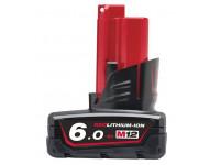 Batterie M12 B6 12V 6.0Ah Red Lithium MILWAUKEE - 4932451395