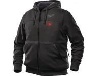 Sweat chauffant noir M12HHBL3-0 MILWAUKEE sans batterie ni chargeur - 49334643