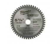 Lame scie circulaire métal MILWAUKEE Ø 135 mm - 50 dents - 48404075