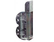Embase gauche support d'angle M6/4 FERCO pour mécanisme oscillo-battant bois - 9-39942-15-L-1