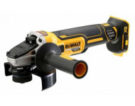 Meuleuse DEWALT Brushless XR Ø125 mm - Sans batterie ni chargeur - DCG405NT