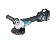 Meuleuse MAKITA Ø125 mm 18V Li-Ion + 2 batteries 5.0 Ah, chargeur, coffret - DGA513RTJ