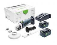 Meuleuse d'angle AGC 18-125 Li EB-Plus FESTOOL - 2 batteries + chargeur -  575344