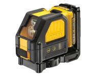 Laser DEWALT En croix - Faisceaux rouge - 10.8V 2.0Ah - Batterie et chargeur - DCE088D1R