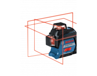 Laser BOSCH GLL 3-80 - 3 plans - avec trépied BT150 - 06159940KD
