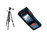 Télémètre BOSCH GLM120C  connecté avec caméra + trépied BT150 - 0601072F01