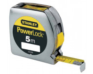 Mètre Powerlock lecture directe STANLEY 5m x 19mm - 0-33-932