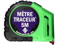 Mètre traçeur 5M +10 mines - Edition Whiteline - Tracé blanc - MT5-B