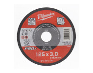 Disque à tronçonner MILWAUKEE Spécial métaux - Ø 125 mm - 4932451492