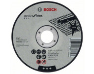 Disque à tronçonner BOSCH à moyeu plat Standard Inox Rapido 125X1.6 MM - 2608603172