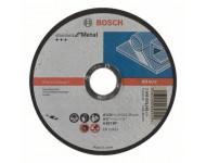 Disque à tronçonner BOSCH à moyeu plat Standard Pour le Métal 125X1.6 MM - 2608603165