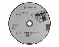 Disque EXPERT à tronçonner BOSCH à moyeu plat Spécial inox 230X2.0 MM - 2608600096