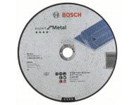 Disque EXPERT à tronçonner BOSCH à moyeu plat Spécial métaux 230X3.0 MM - 2608600324