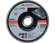Disque à tronçonner BOSCH Inox Ø125mm - 10 pieces - 2608603255