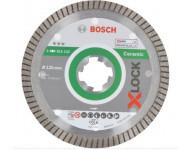 Disque diamant X-Lock Ceramic ExtraClean BOSCH 125 mm - 2608615132