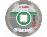 Disque diamant X-Lock Standard Ceramic BOSCH 125 mm - 2608615138
