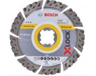 Disque diamant X-Lock Best Universal BOSCH 125 mm - 2608615161