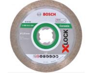 Disque diamant X-Lock Best Ceramic BOSCH 125 mm - 2608615164