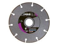 Disque diamant DIAM Ø125mm -  Pour acier, Inox - SPI125/22