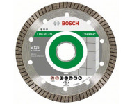 Disque à tronçonner diamanté BOSCH D Turbo Spécial Céramique et Pierre 125X22.23 MM - 2608602479
