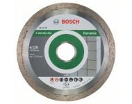 Disque à tronçonner diamanté BOSCH Standard Spécial Céramique 125X22.23 MM - 2608602202