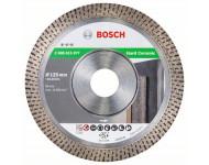 Disque diamanté Best Hard Ceramic BOSCH - 125 x 22,23 - 2608615077