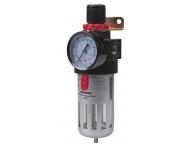 Filtre régulateur SILVERLINE pour air comprimé - 150 ml - 427596