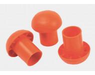 Sac de 100 protections pour fer à béton Ø 8 à 32 mm MOB MONDELIN - 303450