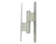 Paumelle renforcée à bague laiton TORBEL - 160x80x95 mm - Gauche - RCNR168G1