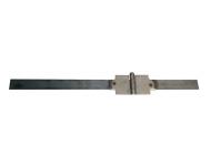 Charnière à souder Flèchisse à brosse rallongée ailes inégales 60 mm TORBEL - CSFBR0600