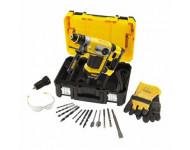 Perforateur SDS-Plus filaire 4.2J 32mm DEWALT - avec accessoires - D25417KT-QS