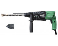 Perforateur-burineur HITACHI - HIKOKI 730W 24MM SDS+ 2.7J - DH24PH