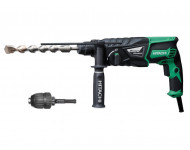 Perforateur HITACHI SDS+ 830W 26mm 3.2J + mandrin - DH26PB (Pas Burineur)