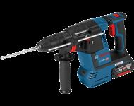 Perforateur sans fil BOSCH GBH 18V-26F Professional - malette L-Boxx + 2 batteries Li-ion 6.0Ah + chargeur rapide + accessoires - 0611910002
