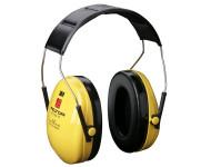 Casque antibruit 3M Peltor Optime1 - avec protection auditive visible - H510010