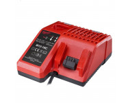 Chargeur multi-voltage MILWAUKEE 12V - 14.4V - 18V RED LITHIUM - 4932352959