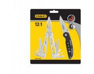 Mini-pinces multioutils STANLEY + Couteau de poche COMBO - STHT-71028