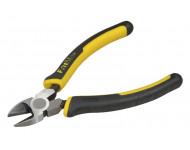 Pince coupante diagonale d'électricien Fatmax STANLEY - L.150 mm - 0-89-858