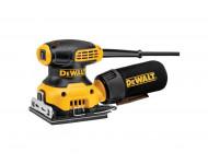 Ponceuse vibrante de finition DEWALT 230W 1/4 feuille DWE6411