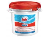 Chlore HTH Sans stabilisant - Stick de 300g - Seau de 4.5 kg - H800044H1