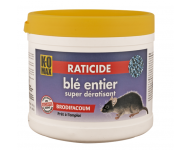 Raticide KOMAX Super dératisant  - Blé entier - 150 gr - XB150