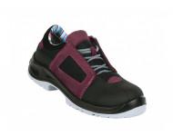 Chaussure de sécurité Air Lace Lady GASTONMILLE - SAP SRC ESD - aubergine - AFBA1