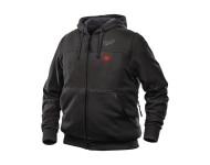 Sweat chauffant noir M12HHBL2-0 MILWAUKEE - sans batterie - 49334516