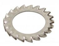Rondelles éventail ACTON à dentures extérieure - Inox - 64513