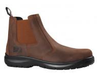 Chaussures de sécurité LIBERTO BOSSEUR - Haute S3 - Marron - 11441