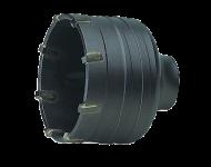 Trépan électricien carbure DIAGER - porte-trépan SDS-Plus - 326-328