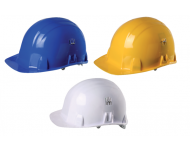 Casque de chantier en polyéthylène avec aérations réglables SINGER - CASBRENNUS