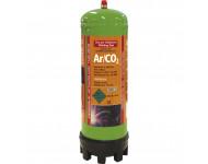 Cartouche jetable 2.2L Argon/CO2 et détendeur GYS