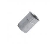 Boîte 500 Écrous crantés tête réduite 90° SCELL IT acier zingué ØM5 - L.11.5 mm Øperç.7 mm - TCR0530